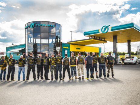 Motoklubi 39 MC korraldas oma 20. sünnipäeva puhul heategevusliku sõidu. Foto Kristi Sepri
