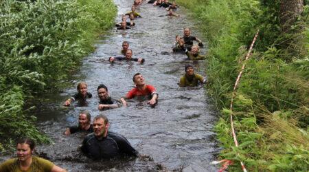 Seekordne mudajooks toimus ekstreemsetes tingimustes. Foto Raimo Metsamärt.