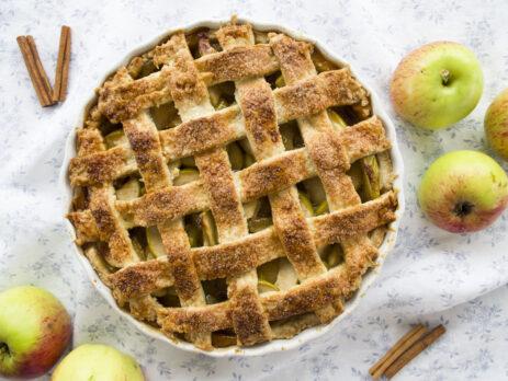 Karamelline õunakook. Grete Tõnne.
