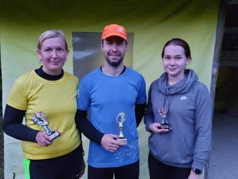 Kirly Kadastik, Alar Sadam ja Hanna-Liisa Mölder. Foto erakogu.