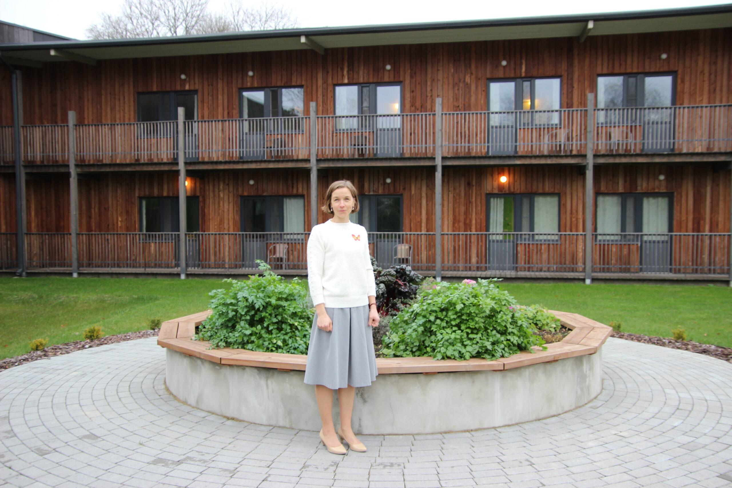 Lagle Kalberg on tööd teinud südamega ja Põltsamaa Kodu juhatanud selle rajamisest alates.. Foto Raimo Metsamärt.