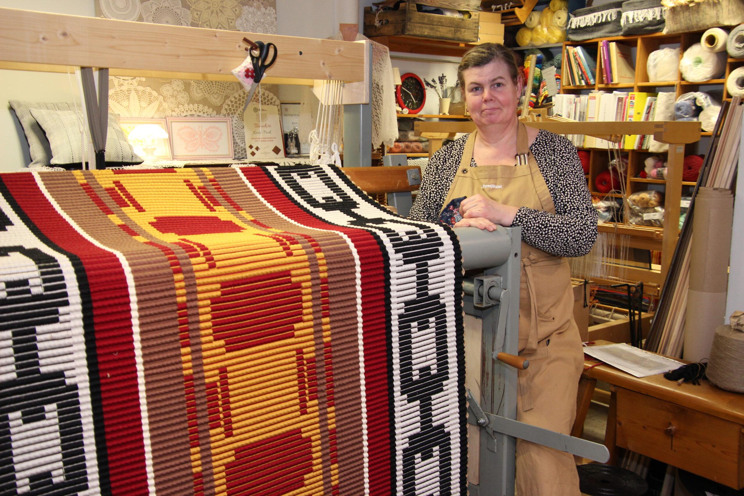 Maakonna tegu 2020 tiitli pälvis põltsamaalanna Kersti Pook. Foto Raimo Metsamärt.