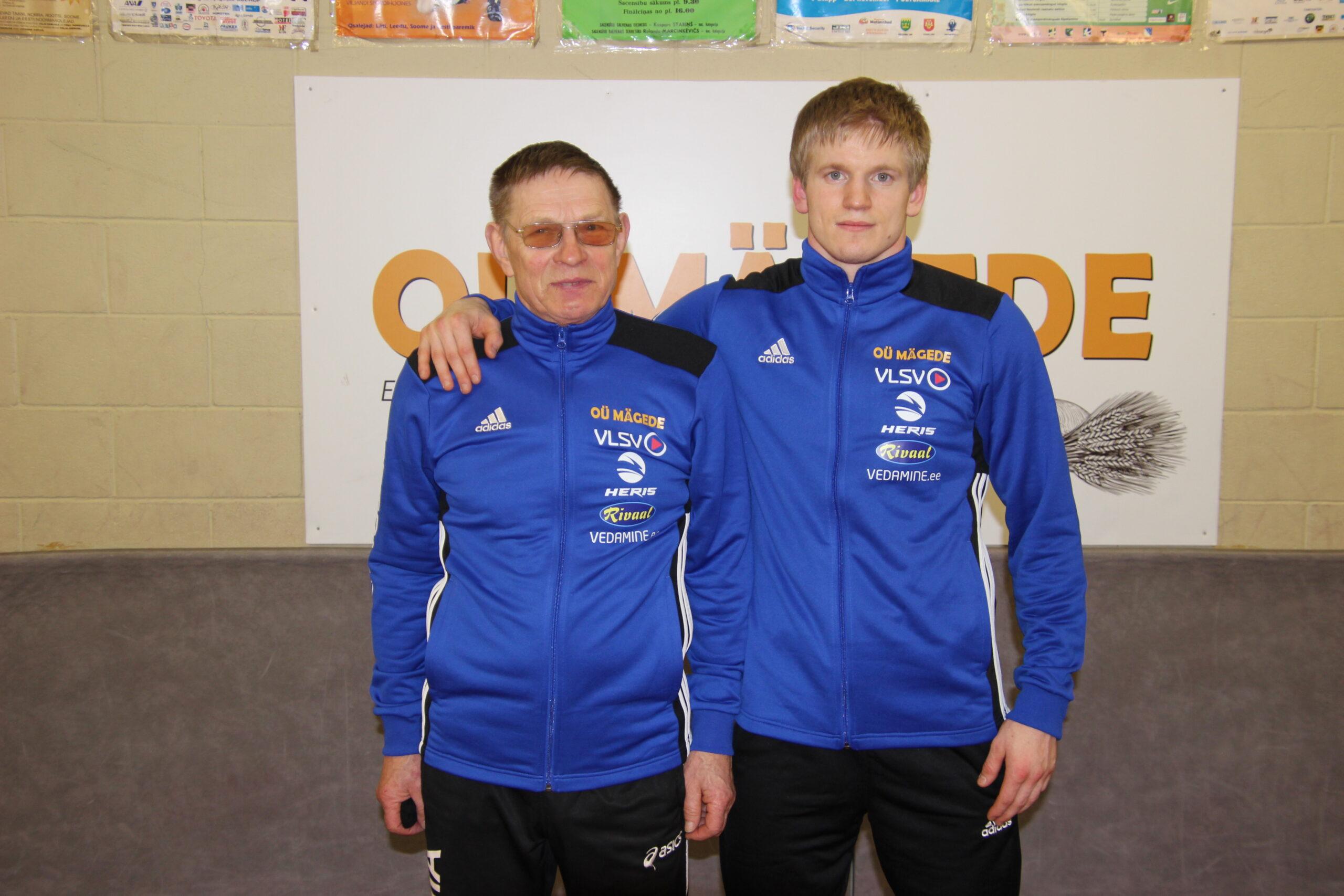 Arved Külanurm ja Aimar Andruse. Foto Raimo Metsamärt.
