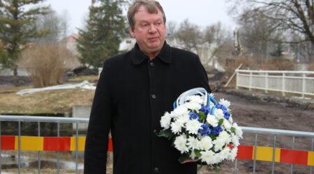 Vallavanem Andres Vään. Foto Raimo Metsamärt.