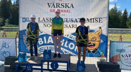 N13 vanuseklassis oli võitja Kaisa Morgenson. Foto erakogu.