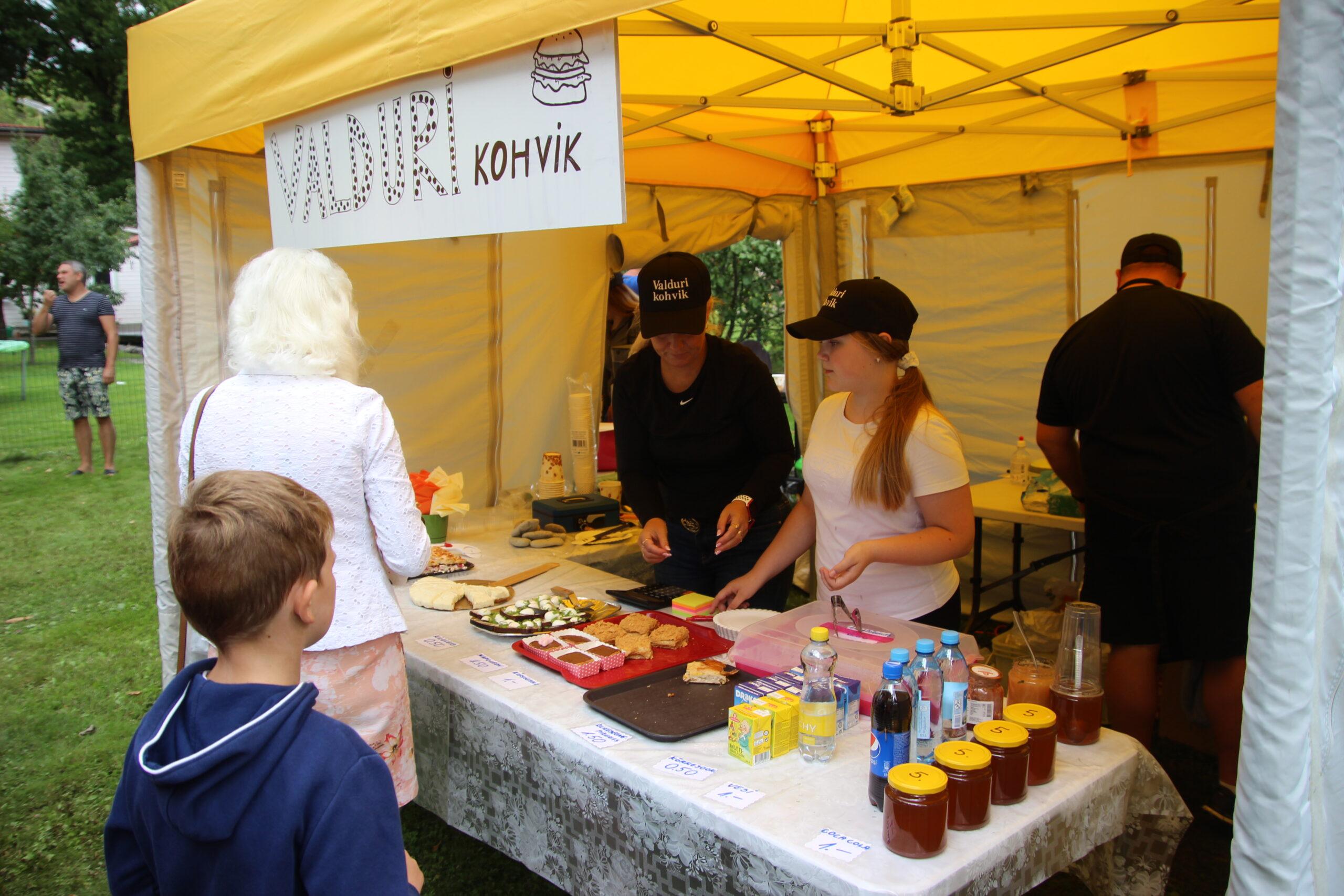 Põltsamaa kohvikute päev 2021, Valduri kohvik, Foto Raimo Metsamärt.