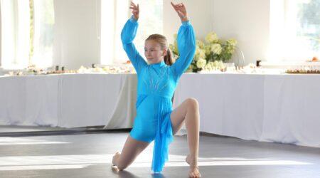 Kirke Rääk on 12-aastane ja on tantsimisega tegelenud juba kuus aastat. Foto Taavi Möller.