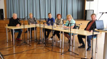 Põltsamaa raadio erisaade. Foto Raimo Metsamärt.